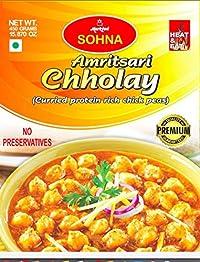 Sohna Ready To Eat -Amritsari Chholay (450 Gram) Pack Of 1- Sbtm