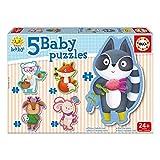 Educa Borrás - 5 Puzzles Baby Animalitos (16816.0)