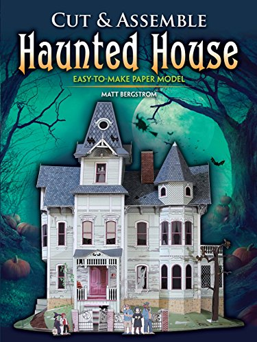 Cut & Assemble Haunted House (Basteln Scary Halloween-dekorationen)