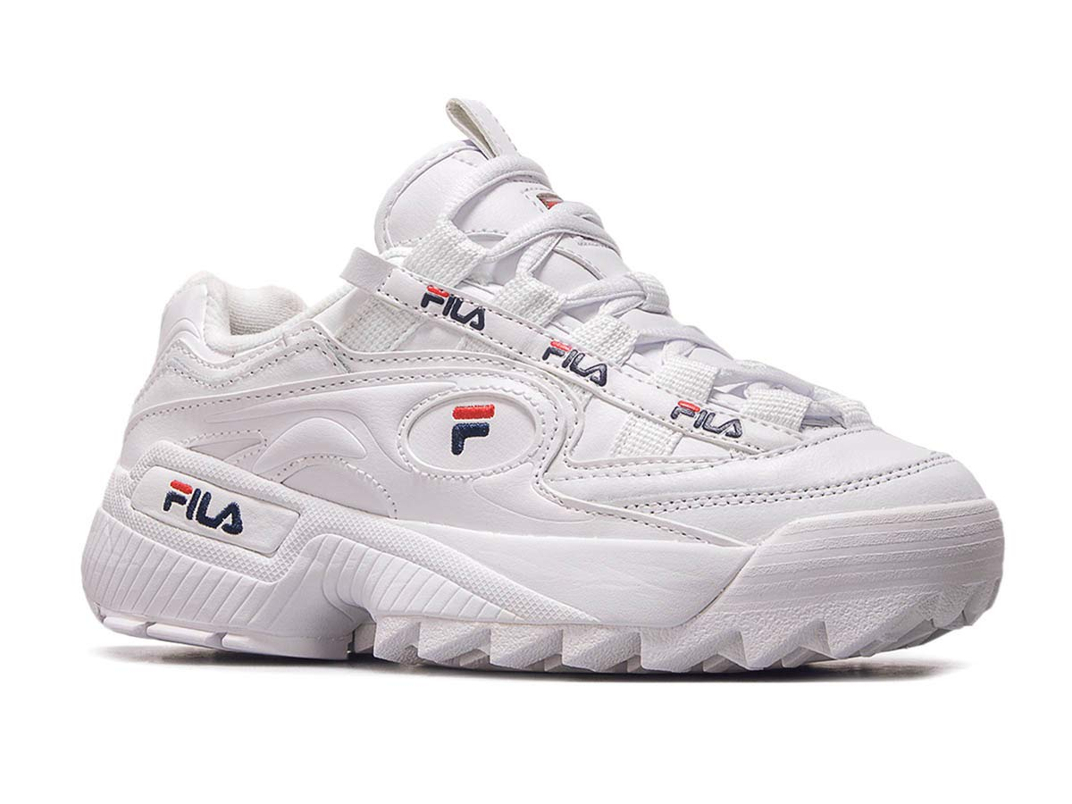 Fila D Formation Sneakers White Damen