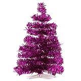 HAB & GUT (XM142 Albero di Natale artificiale/abete colorato FUCSIA metallizzato - Altezza: 60 cm