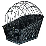 Trixie Bicycle Basket For Carrier, With Lattice, 35X49 55cm, Black