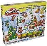 Play-Doh–b21999–Modeling Compound Spielzeug–Weihnachts Adventskalender–Beinhaltet 5Farbe Tubs