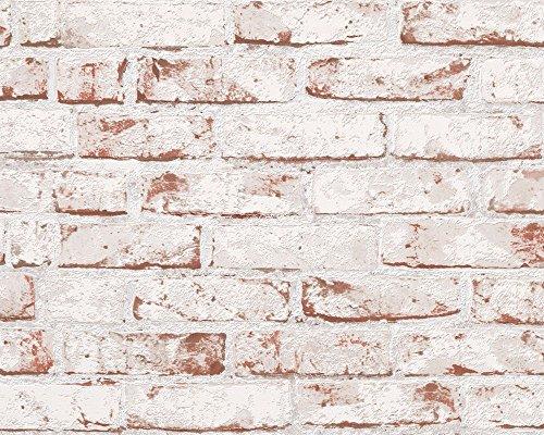 pop.up Panel 3D 'Steinmauer hell' selbstklebende Tapete