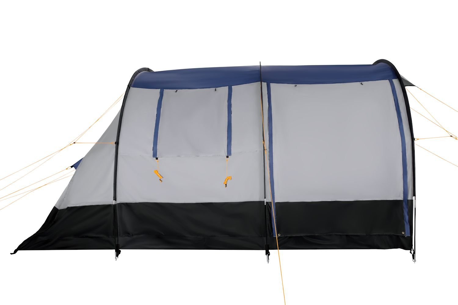 CampFeuer - Tunnel Tent, spacious Camping Tent, 510x360x210 cm, blue/grey - Version 2 4