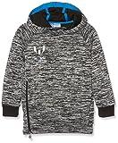 adidas Jungen Messi Hoodie, Black/White/Shock Blue, 176