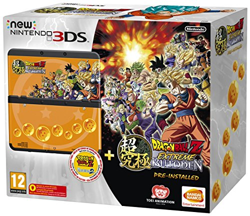 NINTENDO - Nintendo New 3ds Negra Dragon Ball Z Prein - 2207699