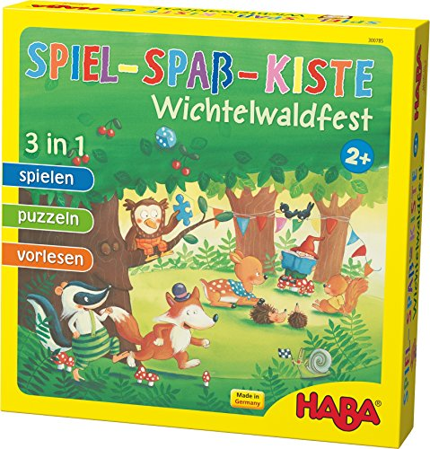 HABA 300785 - Wichtelwaldfest, Spielesammlung