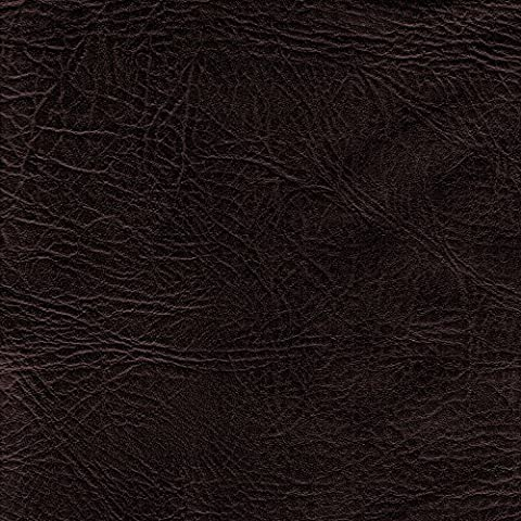 BROWN 54 inch wide Leatherette Vinyl Fabric Fire Retardant Faux Leather Upholstery Material Sold by the metre