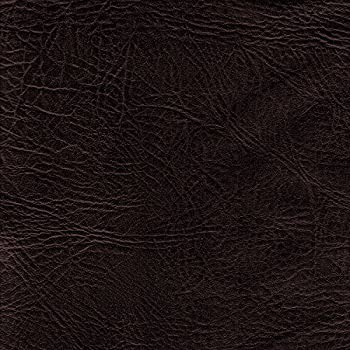 FAUX LEATHER FABRIC CHESTNUT UPHOLSTERY Automotive Heavy Leatherette Soft Vinyl