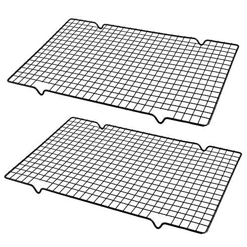 Leegoal graticola, griglie di raffreddamento in acciaio inox per cottura antiaderente bold-grid design in acciaio al carbonio filo rack per raffreddamento, da forno.