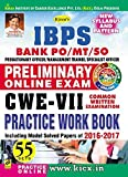 #9: Kiran's IBPS Bank PO/MT/SO Preliminary Online Exam 58 Sets CWE-VII Practice Work Book - KP 1947
