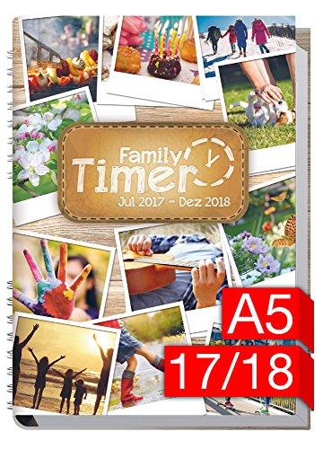 Preisvergleich Produktbild Chäff Family-Timer 2017/2018 - Der Familien-Planer! 18 Monate Juli 2017-Dezember 2018, Familienkalender