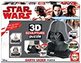 Educa 17334 3D Sculpture Puzzle Darth Vader - Schwarz Side Edition, Spiel