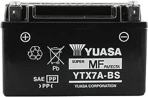 Yuasa Maintenance Free Battery 229030/a YTX7/A BS 12/V 6/A Yamaha Cygnus Sym Fiddle Kymco Agility 125