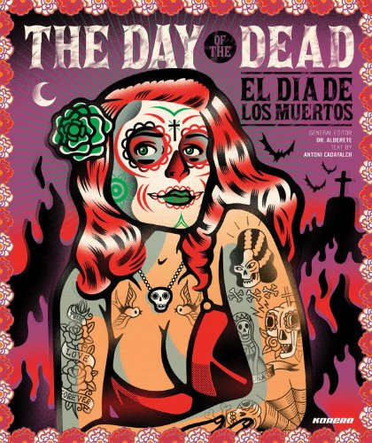 The day of the dead graphics, cartoons, symbols, installations and toys par Antoni Cadafalch