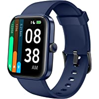 Smartwatch, YONMIG 1,69'' Full Touch Schermo Orologio Fitness con Alexa Integrata/Saturimetro(SpO2…