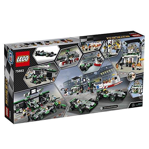 LEGO Speed Champions MERCEDES AMG PETRONAS Formula One Team 941pieza(s) juego de construcción   juegos de construcción (Multicolor  8 año(s)  941 pieza(s)  14 año(s)  8 pieza(s))