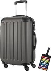 HAUPTSTADTKOFFER Hartschalen Koffer Spree 1203 · 3 Koffergrößen (49Liter · 82Liter · 128Liter) · MATT · TSA Zahlenschloss · + KOFFERANHÄNGER
