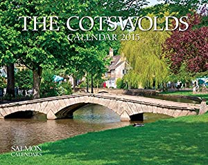 The Cotswolds Small Wall Calendar 2015