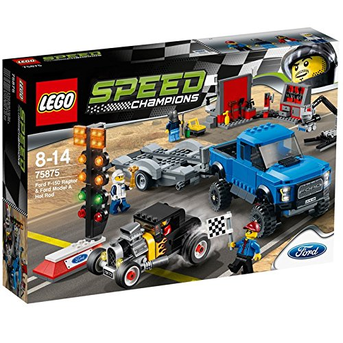 Lego Speed Champions - 75875 - Ford F-150 Raptor E Hot Rod Ford Model A