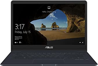 ASUS ZenBook 13 UX331UAL (90NB0HT3-M01170) 33,7 cm (13.3 Zoll, Full-HD, Matt) Ultrabook (Intel Core i7-8550U, 16GB RAM, 512GB SSD, Windows 10) Blau
