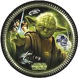 Star Wars 20cm Heroes und Villains Pappteller, 8Stück