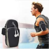 Universal Running Armband, Arm Cell Phone Holder Sports Armband for Running, Fitness and Gym Workouts, Compatible with…