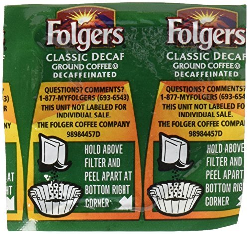 folgers-fol06927-decaffeinated-coffee-individual-packets-pack-of-42-by-folgers