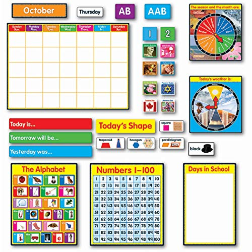 Morning Meeting Solution Bulletin Board Set, Grade K