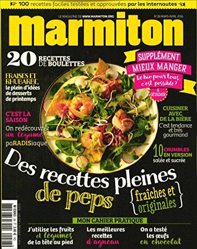 marmiton; des recettes pleines de peps fraîches et originales; 20 recettes de boulettes; cuisiner avec de la bière par marmiton