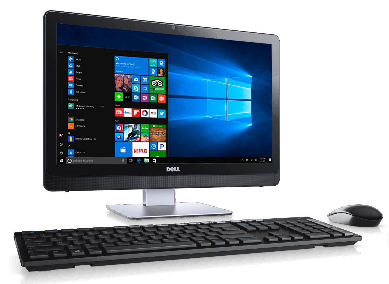 Dell Inspiron All-in-One Touch Screen Desktop (Intel Core i5, 8 GB RAM, 1 TB HDD, Intel HD On Boarding Graphics, Window 10)