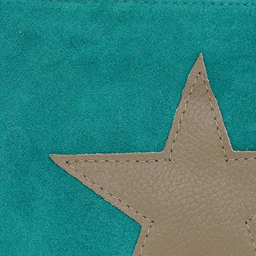 Lord Of Label Star Star, (bxhxt) 25 X 18 X 2 Cm Türkis