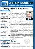 Aktien Monitor 5 2018 Grenke Evotec Microsoft Zeitschrift Magazin Einzelheft Heft Börsenbrief