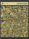 Posterlounge Forex-Platte 100 x 130 cm: Jerusalem Karte von Jazzberry Blue