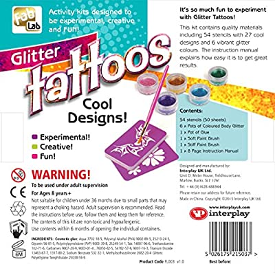 FabLab Glitter Tattoos Kit