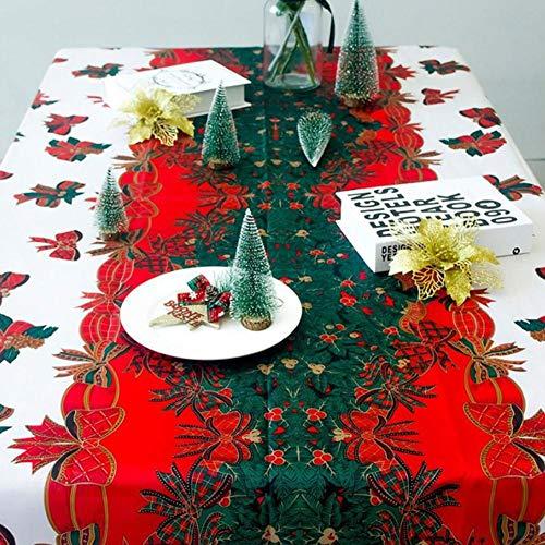 Mantel mantel protector mesa hogar Navidad Escena