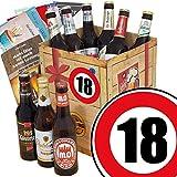 DDR Bierbox | Zahl 18 | Geschenk Idee Mutti | Bier Geschenk Box