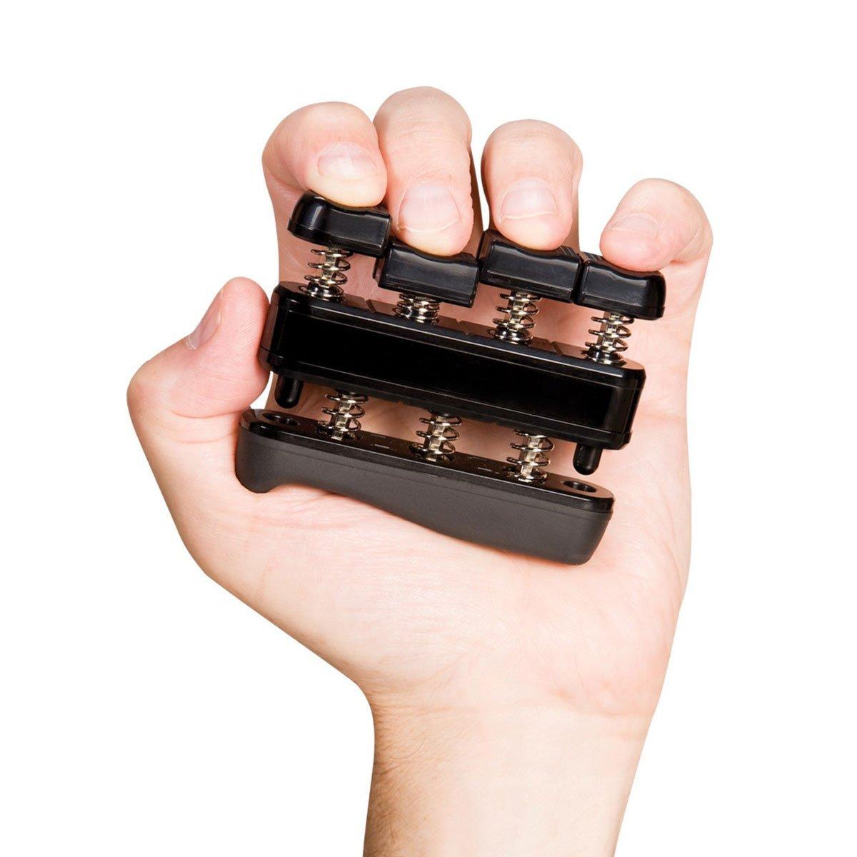 2098/5000 Ejercitador de mano ajustable Fortalecedor de agarre de mano Antebrazo y equipo de ejercicio de fuerza de dedo Fortalezas de dedo de guitarra y agarre de escalada Entrenamiento Terapia ocupacional y física, pensamiento y estrés