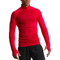 TCA Men's Legend SuperKnit Long Sleeve Half-Zip Running Top