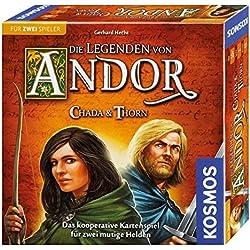 KOSMOS Die Legenden von Andor 692537 - Chada und Thorn, Spiel für zwei Die Legenden von Andor