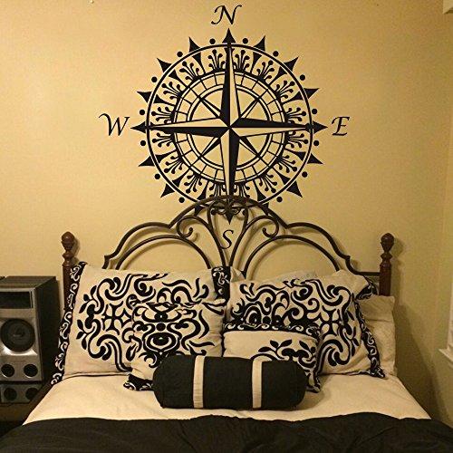 kompass-nautisches-modernes-design-vinyls-kompass-rose-aufkleber-kompass-wandtattoo-nautisches-wall-