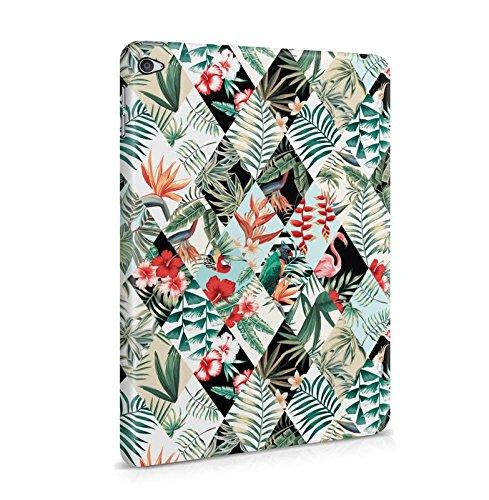 Tropische Vögel Flamingo & Blumen Muster Dünne Tablet Handy Schutzhülle Hardcase Aus Hartplastik Hülle für iPad Mini 4 Handyhülle Case Cover
