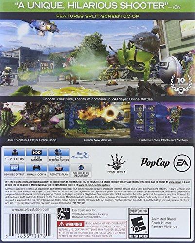 Details about Plants Vs Zombies Garden Warfare Playstation 4