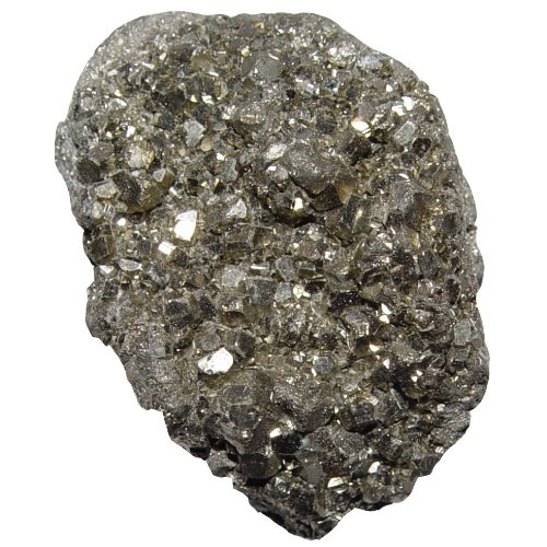 Pyrit Kristall Naturstück auch Katzengold genannt ca. 6 - 8 cm ca. 140 - 200 Gramm.(3408)