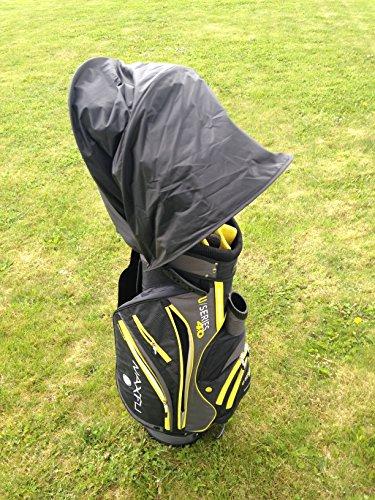 Housse imperméable et rétractable pour sac de golf Ajustement universel.