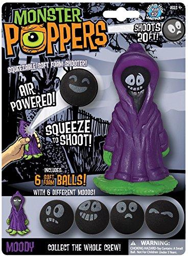 Cheatwell Games Monster Popper Moody weicher Schaumstoff Ball Shooter