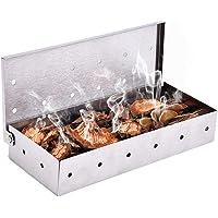 Acier Inoxydable Fumé Boîte,Générateur de Fumée ,Boîte De Fumoir ,barbecues et fumoirs,fumoir viande et poisson,pour…