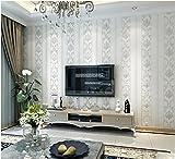 Yosot 3D Stereoskopische Umweltschutz Schlicht Und Modern Gestreifte Schlafzimmer Tapete Europäische Non-Woven-Wohnzimmer Hintergrund Wand Tapeten Grau