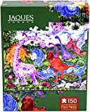 Jaques of London DINOSAUR ADVENTURE jigsaw puzzle for kids - 150 piece Jigsaw puzzle for children - recommended puzzle for 4 5 6 7 8 year olds